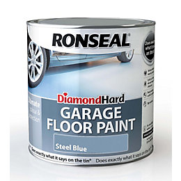Ronseal Diamond Hard Garage Floor Paint Steel Blue