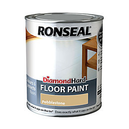 Ronseal Diamond Pebble Stone Satin Floor Paint 750ml