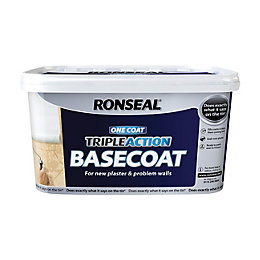 Ronseal Problem Wall Paints White Basecoat 5L