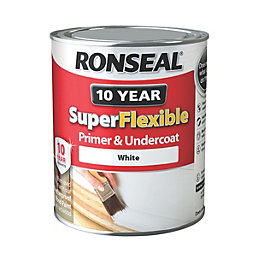 Ronseal Super Flexible Exterior Primer & Undercoat White