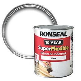 Ronseal White Wood Primer & Undercoat 750ml