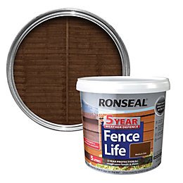 Ronseal Medium Oak Shed & Fence Stain 5L