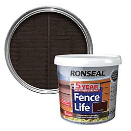 Ronseal Dark Oak Shed & Fence Stain 5L