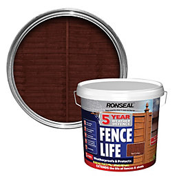 Ronseal 5 Year Weather Defence Fence Life Red