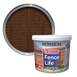 Ronseal Medium Oak Shed & Fence Stain 9L