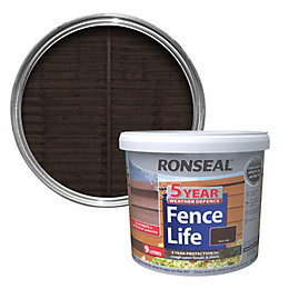 Ronseal 5 Year Weather Defence Fence Life Dark