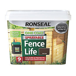 Ronseal Dark Oak Matt Shed & Fence Stain