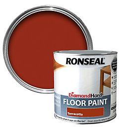 Ronseal Diamond Terracotta Satin Floor Paint 2.5L