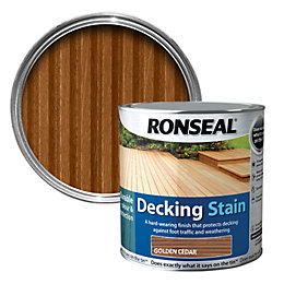 Ronseal Golden Cedar Matt Decking Stain 5L