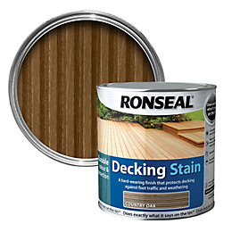 Ronseal Country Oak Matt Decking Stain 5L