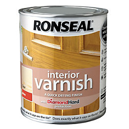 Ronseal Interior Diamond Hard Gloss Interior Varnish 250ml