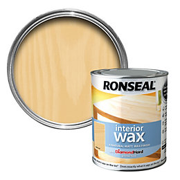 Ronseal Interior Diamond Hard Natural Wood Wax 750ml