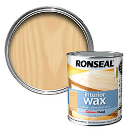 Ronseal Interior Diamond Hard Almond Matt Wood Wax