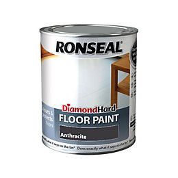 Ronseal Diamond Anthracite Satin Floor Paint 750ml