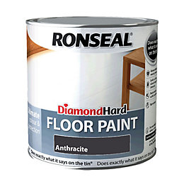 Ronseal Diamond Anthracite Satin Floor Paint2.5L