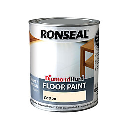 Ronseal Diamond Cotton Satin Floor Paint0.75L