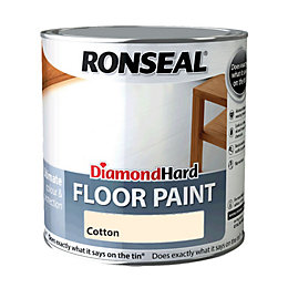 Ronseal Diamond Hard Floor Paint Cotton Satin Floor