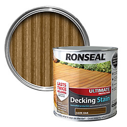 Ronseal Ultimate Dark Oak Matt Decking Stain 5L