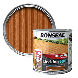 Ronseal Ultimate Cedar Matt Decking Stain 5L