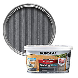 Ronseal Perfect Finish Charcoal Decking Stain 2.5L