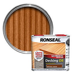Ronseal Ultimate Protection Natural Cedar Decking Oil 2.5L