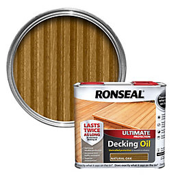 Ronseal Ultimate Protection Natural Oak Decking Oil 2.5L
