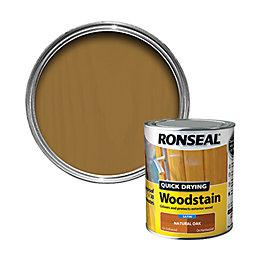 Ronseal Exterior Woodstain Natural Oak Woodstain 750ml