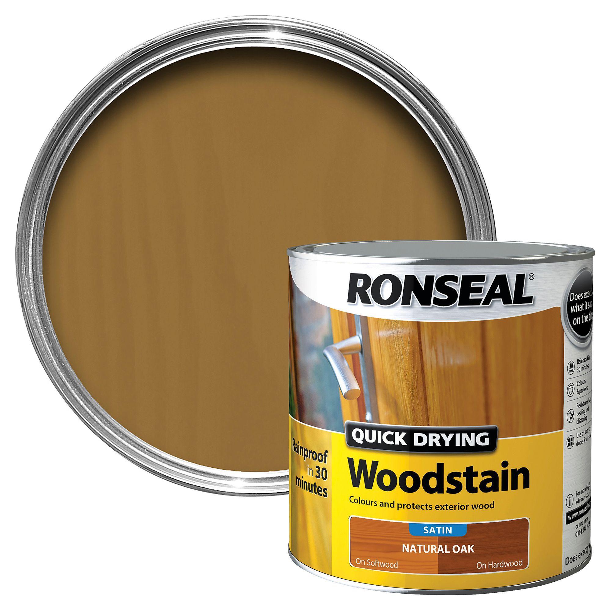Ronseal Oak Exterior Paint Diy