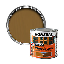 Ronseal Exterior Woodstain Oak Woodstain 250ml