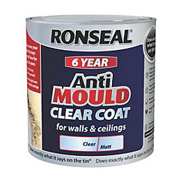 Ronseal 6 Year Matt Anti Mould Clear Coat