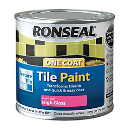 Ronseal Tile Paints Fusion High Gloss Tile Paint0.25L