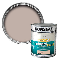 Ronseal Cupboard & Furniture Paint Mocha Brown Satin