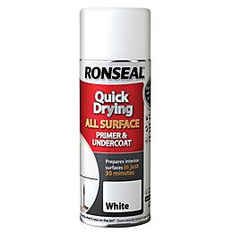 Ronseal One Coat White Primer & Undercoat 400ml