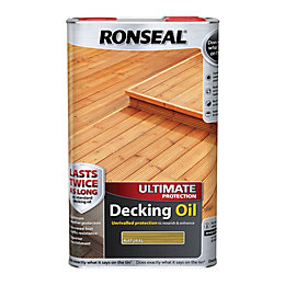 Ronseal Ultimate Natural Decking Oil 5L