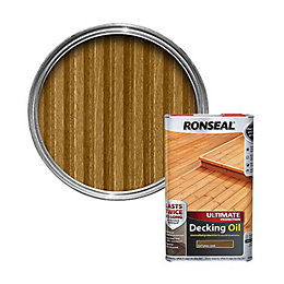Ronseal Ultimate Natural Oak Decking Oil 5L