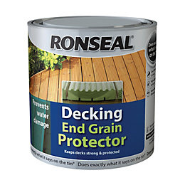 Ronseal Clear Decking End Grain Protector 750ml