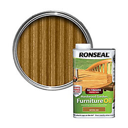 Ronseal Ultimate Natural Oak Hardwood Garden Furniture Oil