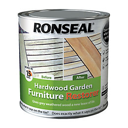 Ronseal Garden Furniture Restorer Clear Hardwood Garden Furniture