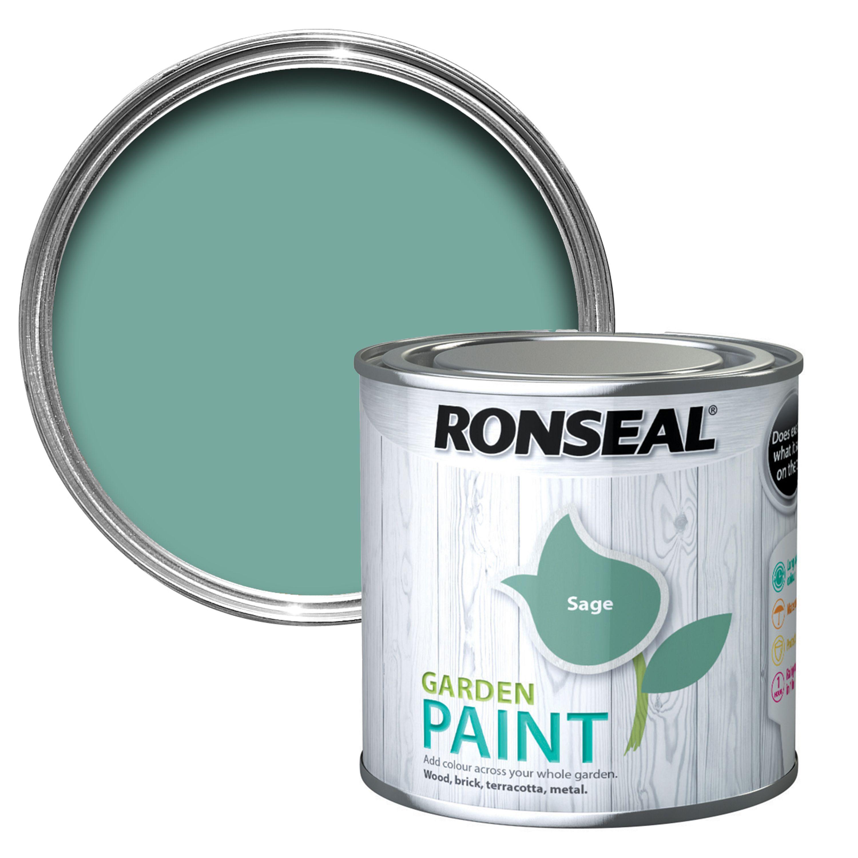 Ronseal Garden Sage Matt Garden Paint 0.25l
