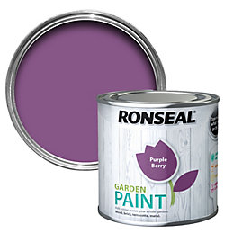 Ronseal Garden Purple Berry Matt Garden Paint 0.25L
