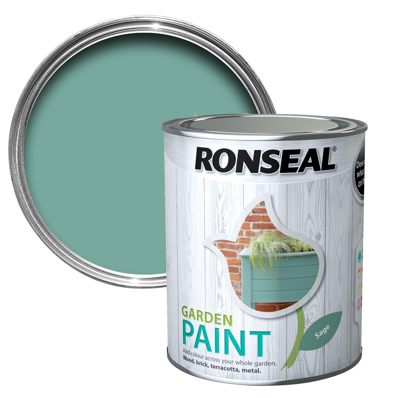 Ronseal Garden Sage Matt Garden Paint 0.75l