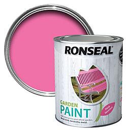 Ronseal Garden Pink Jasmine Matt Garden Paint 750ml