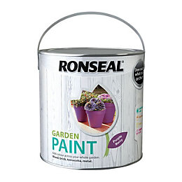 Ronseal Garden Purple Berry Matt Garden Paint 2.5L