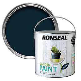 Ronseal Garden Black Bird Matt Garden Paint 2.5L