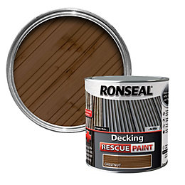 Ronseal Chestnut Decking Rescue Paint 2.5L