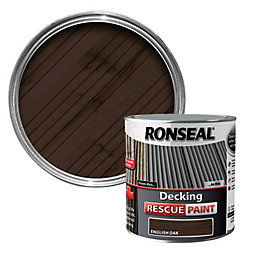 Ronseal English Oak Matt Decking Rescue Paint 2.5L