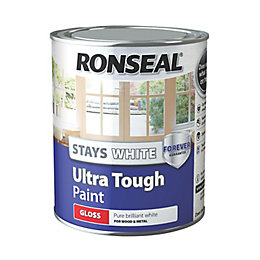 Ronseal Interior & Exterior Pure Brilliant White Gloss
