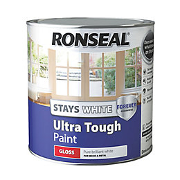 Ronseal Pure Brilliant White Gloss Paint 2.5L