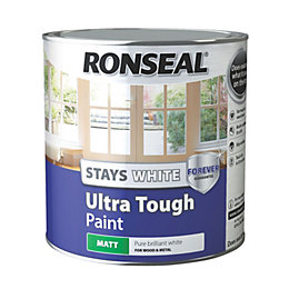 Ronseal Pure Brilliant White Matt Wood & Metal