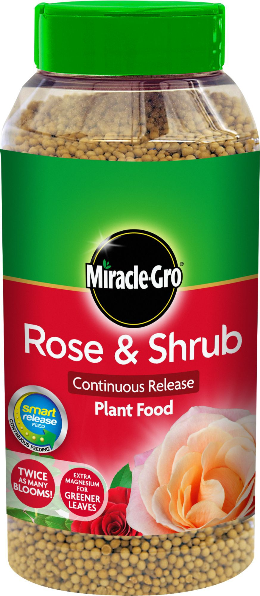 Miracle gro rose shrub continuous release plant food 1kg for Diy rose food